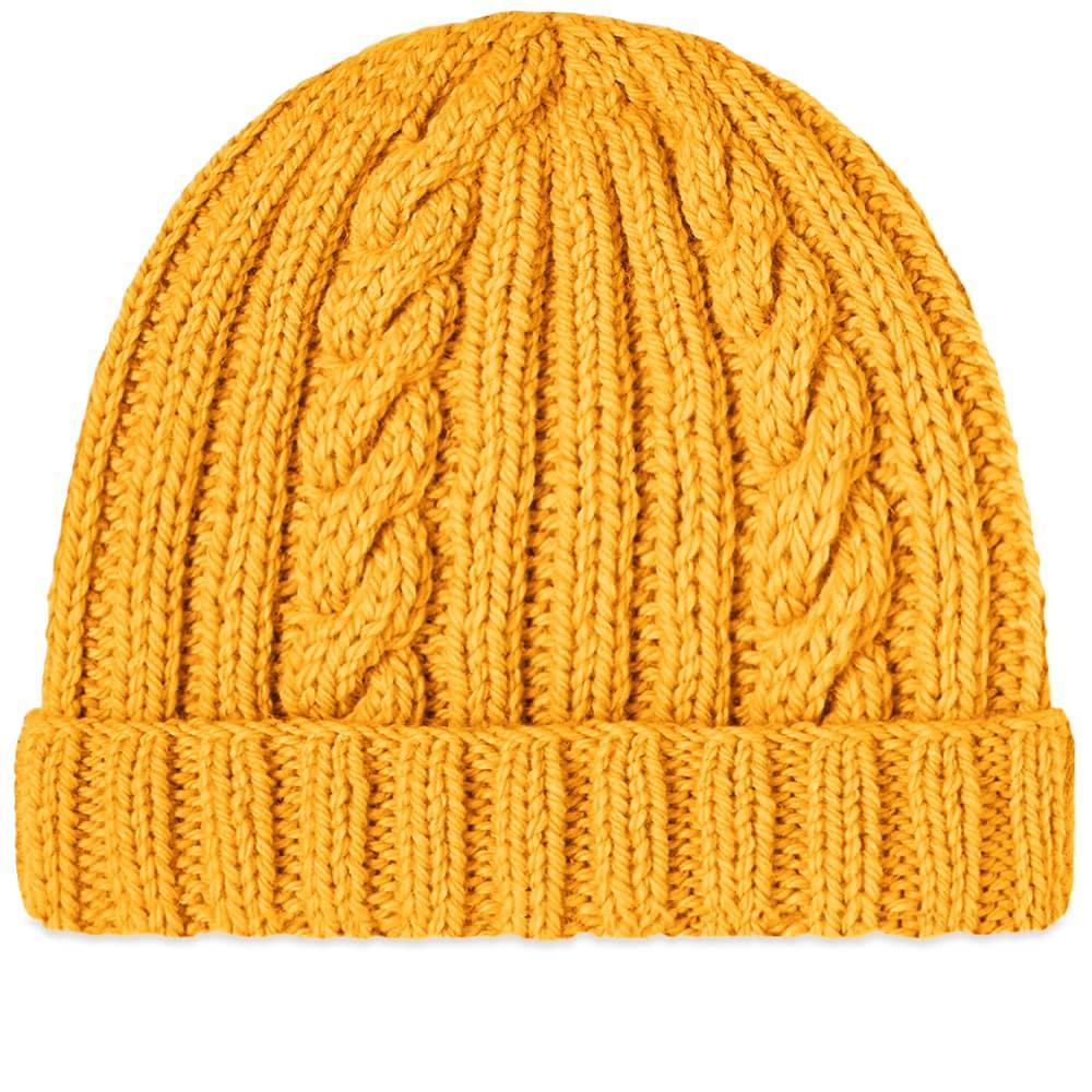 Inverallan Aran Hat - Yellow