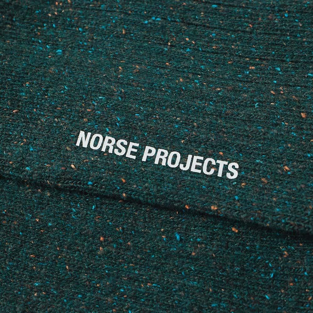 Norse Projects Bjarki Neps Sock - Quartz Green
