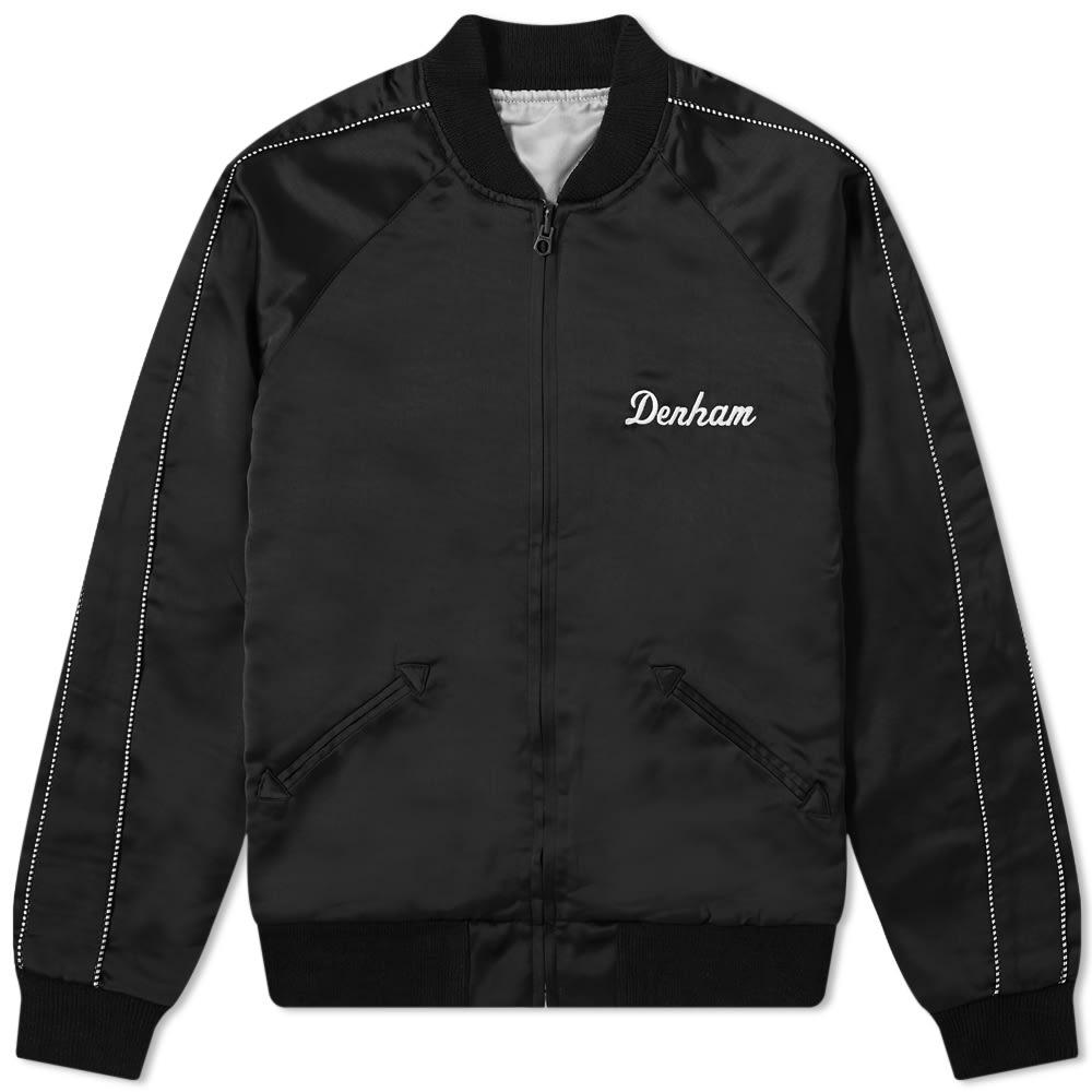 DENHAM Avery Embroidered Souviner Jacket - Black