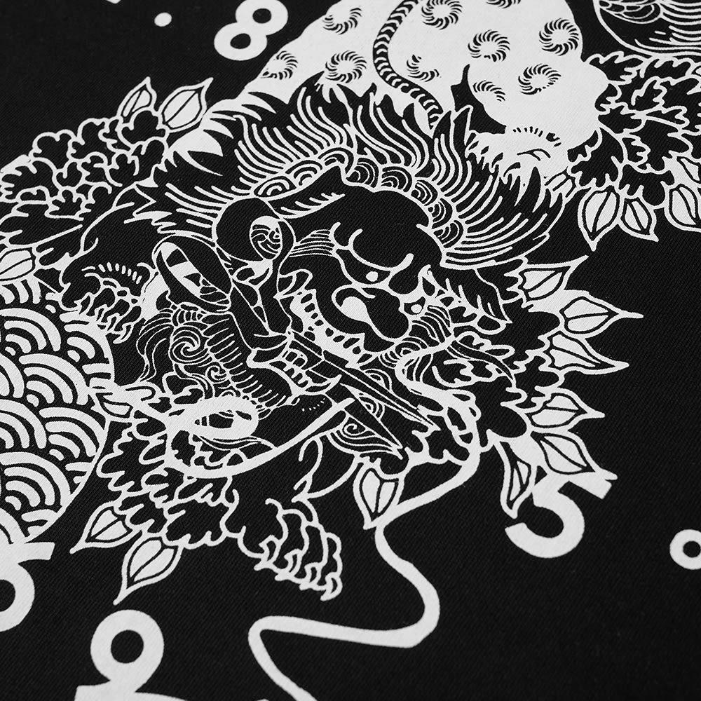 DENHAM Toukay Printed Tee - Black