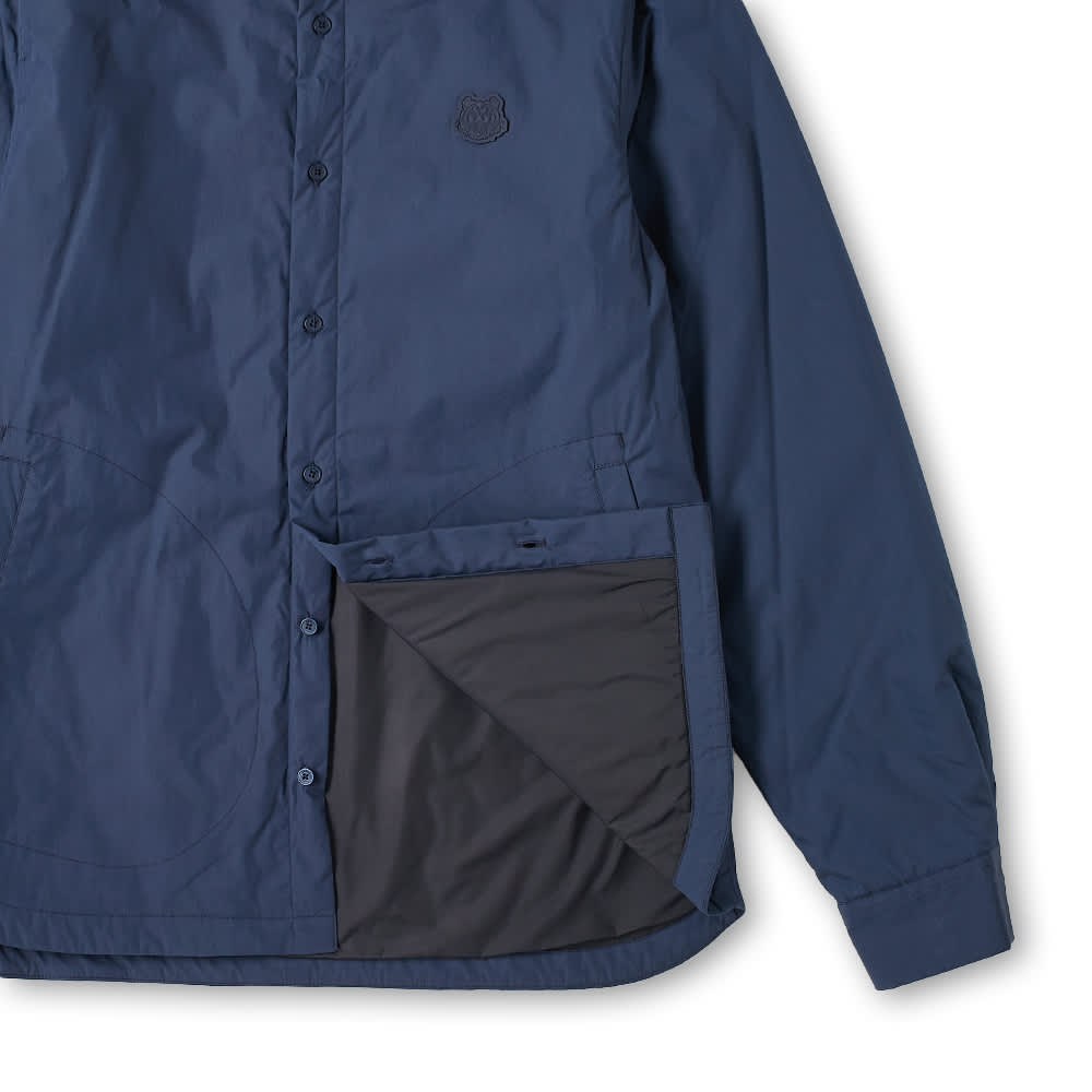 Kenzo Tiger Crest Padded Overshirt - Navy