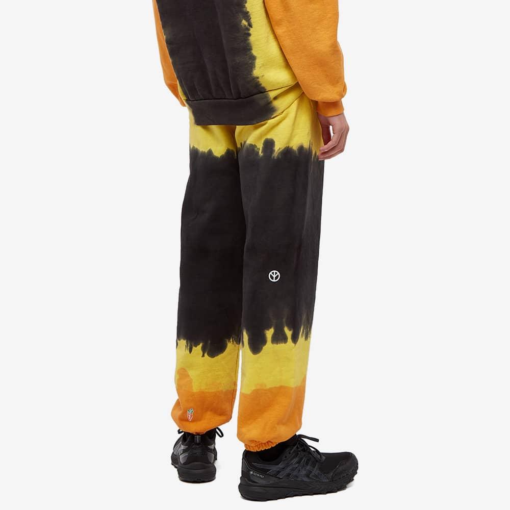Carrots by Anwar Carrots x Babylon Stacked Logo Sweat Pant - Black Tie Dye
