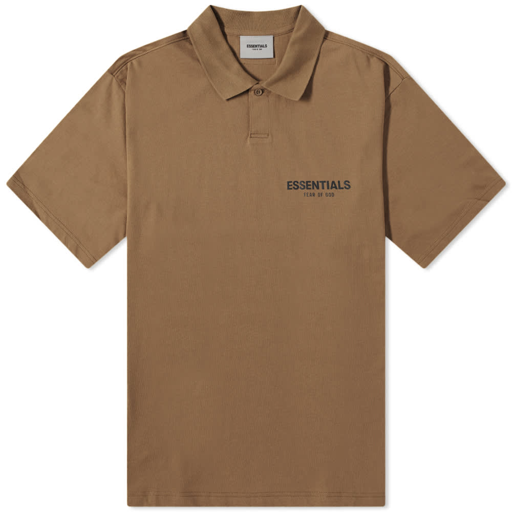 Fear of God Essentials Summer Polo - Harvest