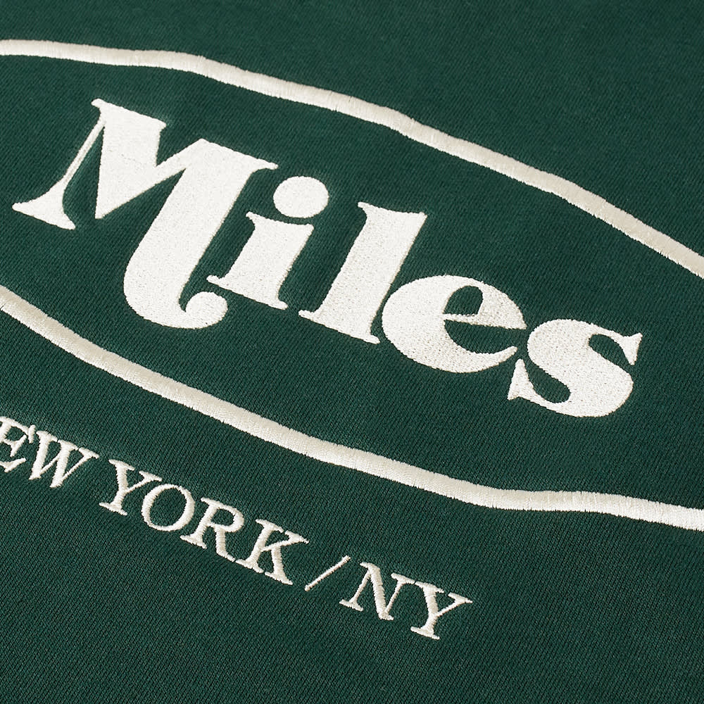 Miles Classic Logo Crew Sweat - Green