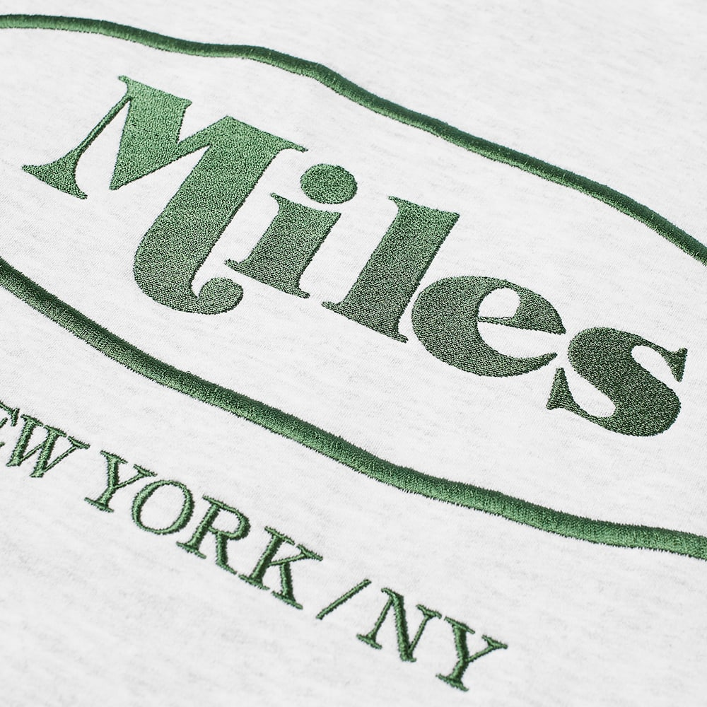 Miles Classic Logo Crew Sweat - Ash