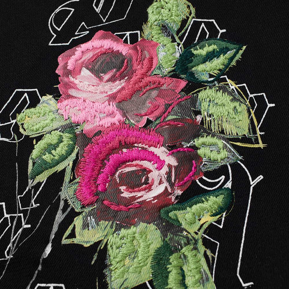 END. x Palm Angels Big Rose Hoody - Black