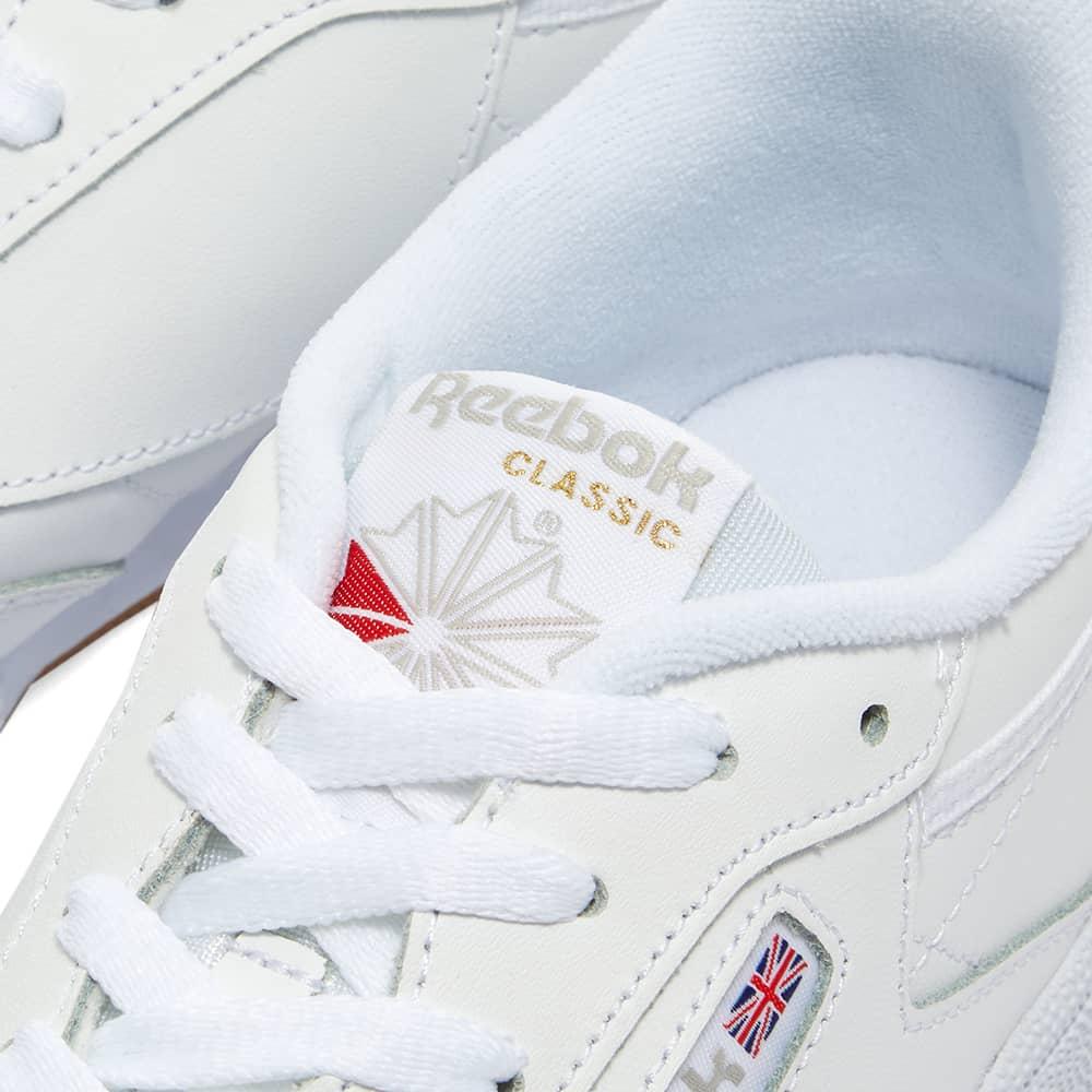 Reebok Club C 85 W - White, Light Grey & Gum
