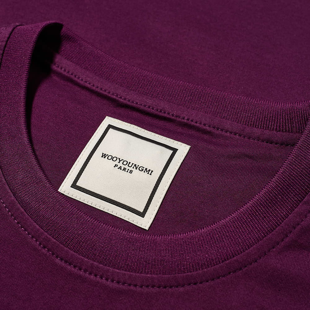 Wooyoungmi Back Logo Tee - Violet