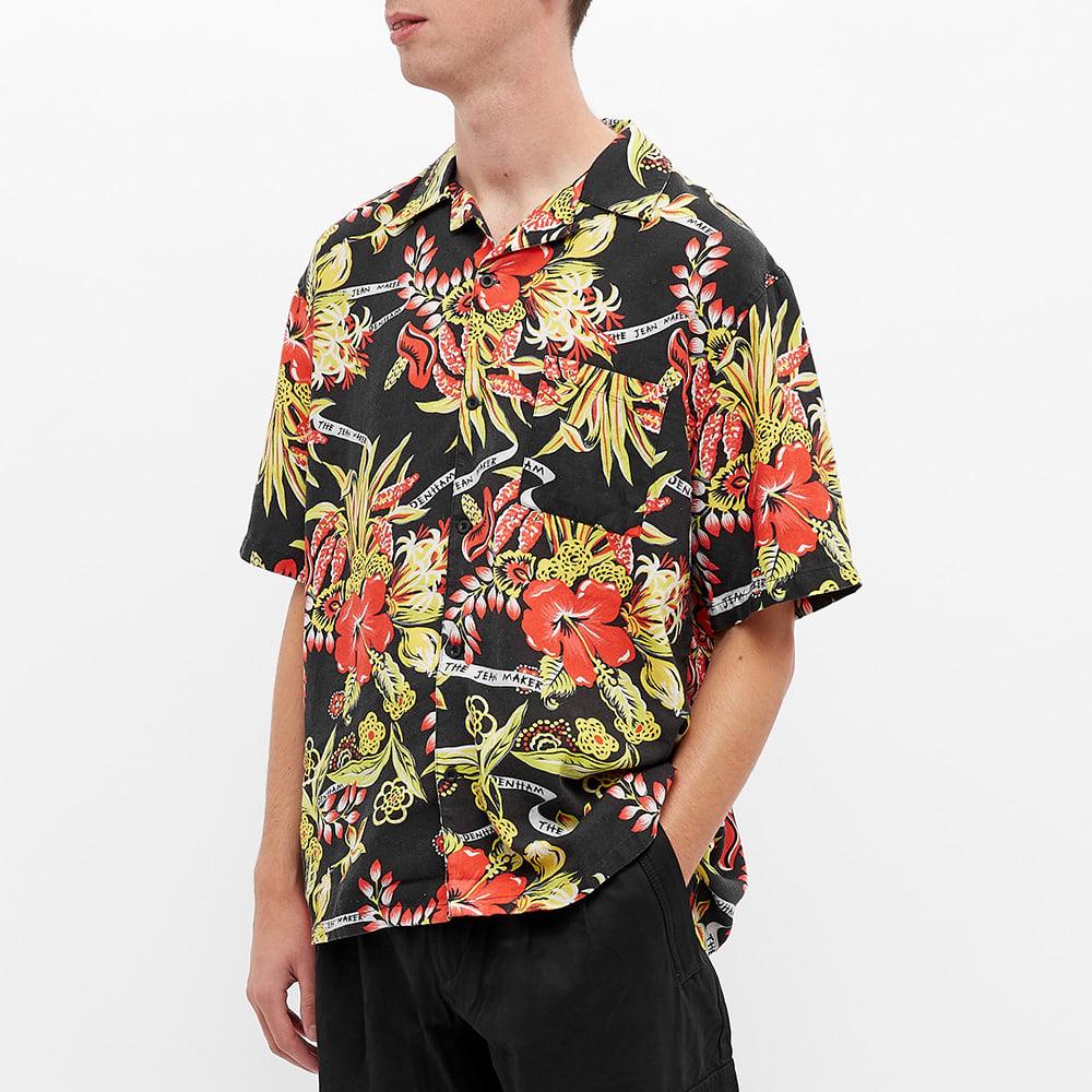 DENHAM Hibiscus Print Vacation Shirt - Multi