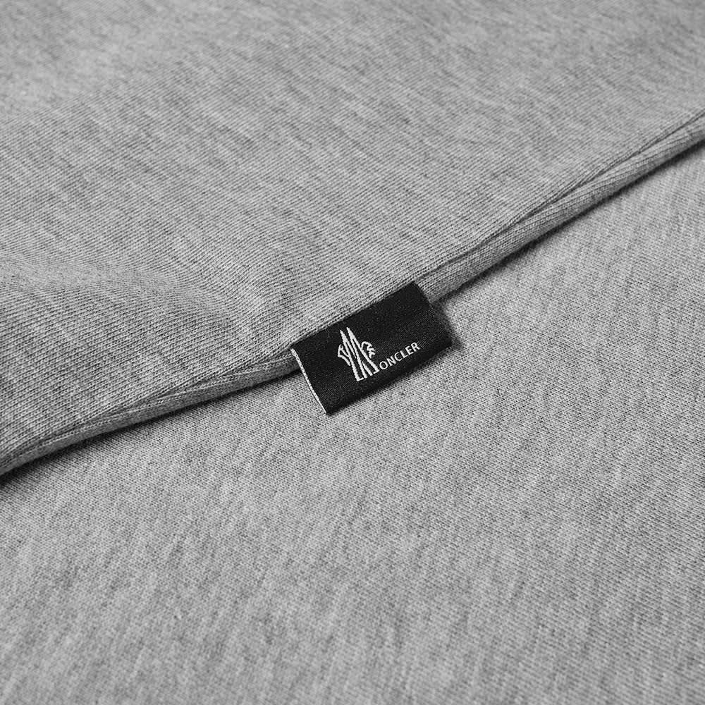 Moncler Grenoble Down Logo Tee - Grey