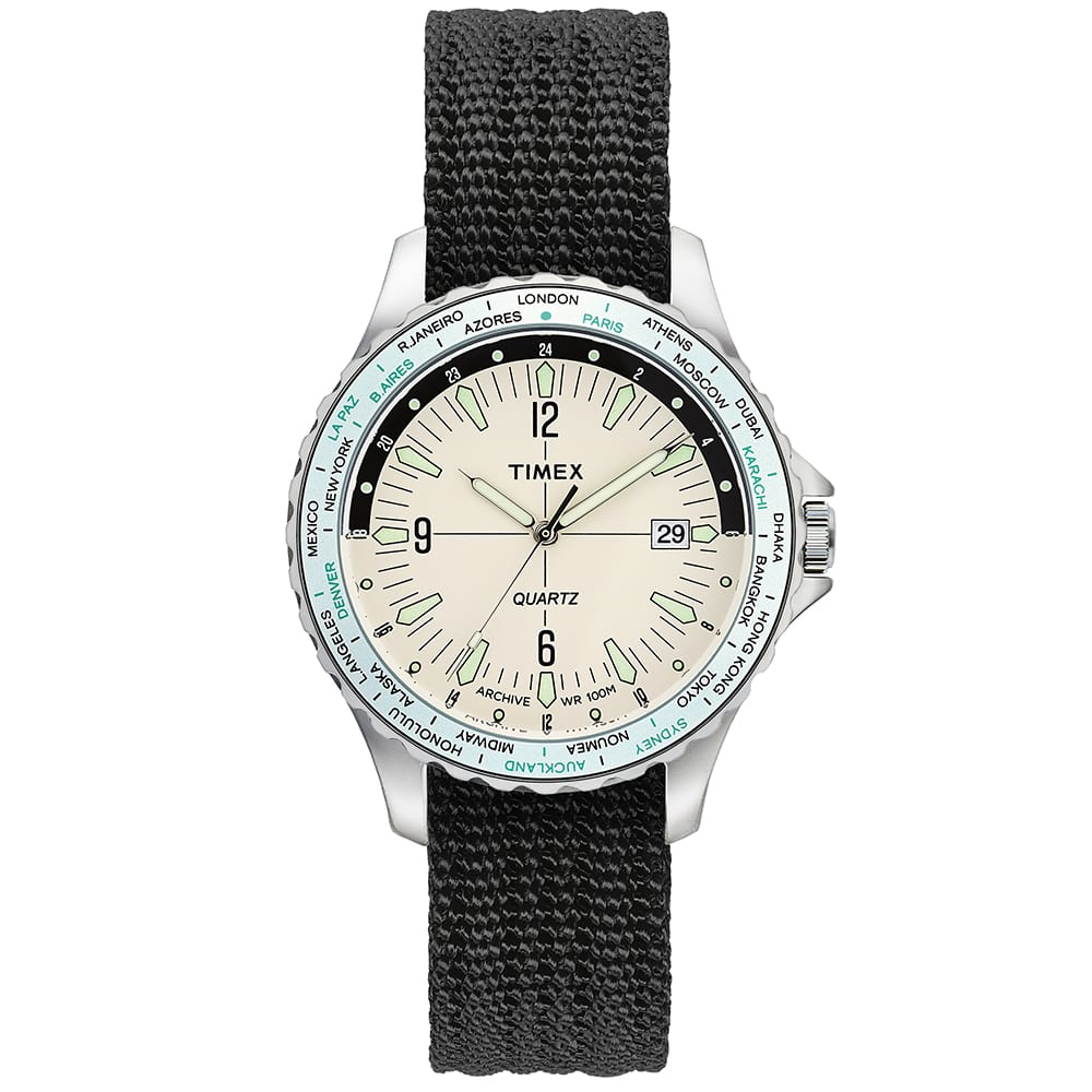 Timex Archive Navi World Time - Steel