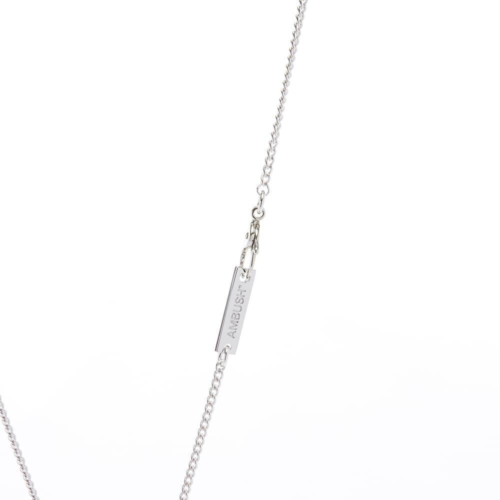 Ambush Pill Case Necklace - Yellow Silver