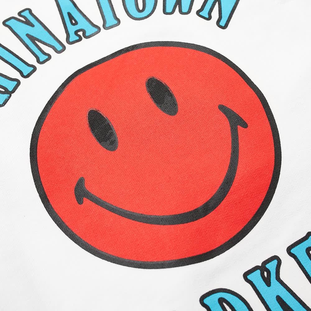 Chinatown Market Smiley Multi Sweat Short - White