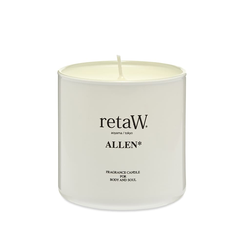 retaW Fragrance Candle - Allen White*