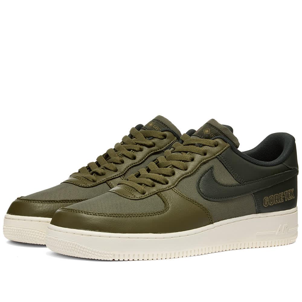 Nike Air Force 1 GTX Olive, Green, Sail
