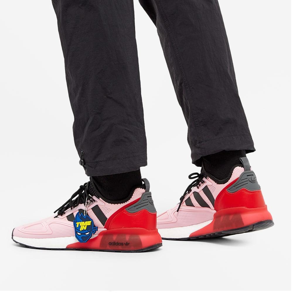 Adidas x Ninja ZX 2K Boost - True Pink, Black & Scarlet