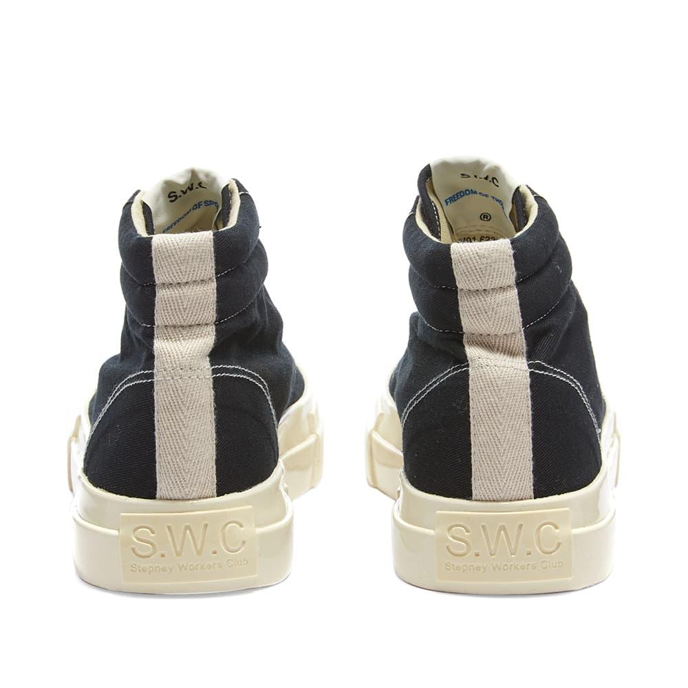Stepney Workers Club Varden Canvas High Sneaker W - Black