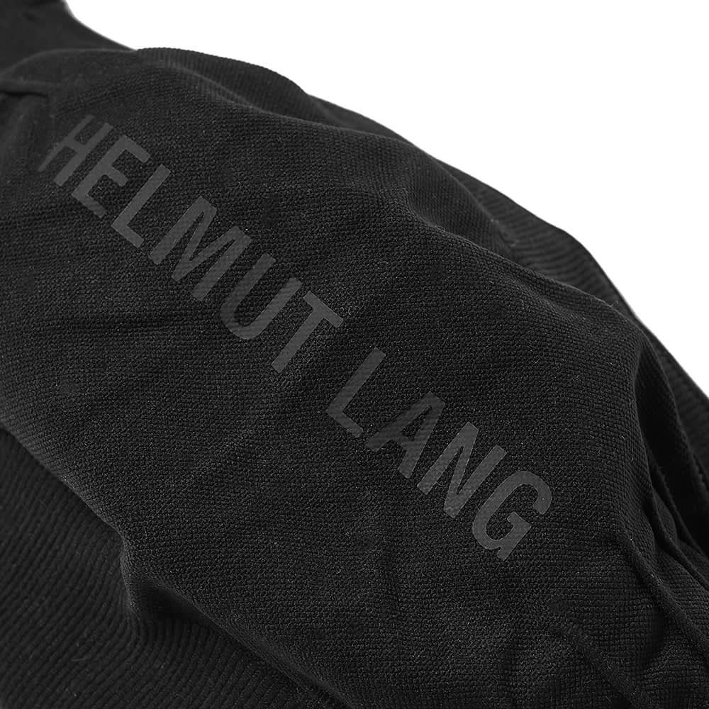 Helmut Lang Logo Jersey Face Mask - Black