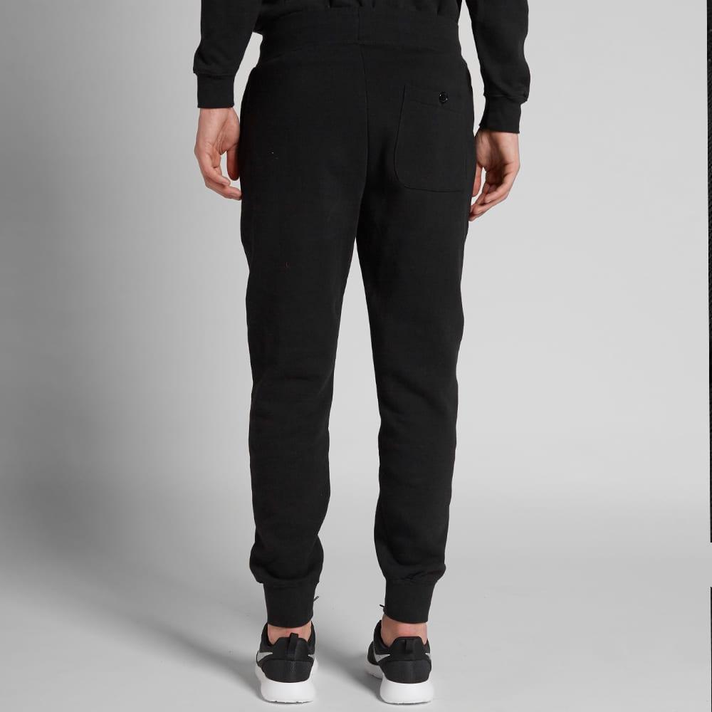 Stussy Men Tonal Stock Fleece Pants black
