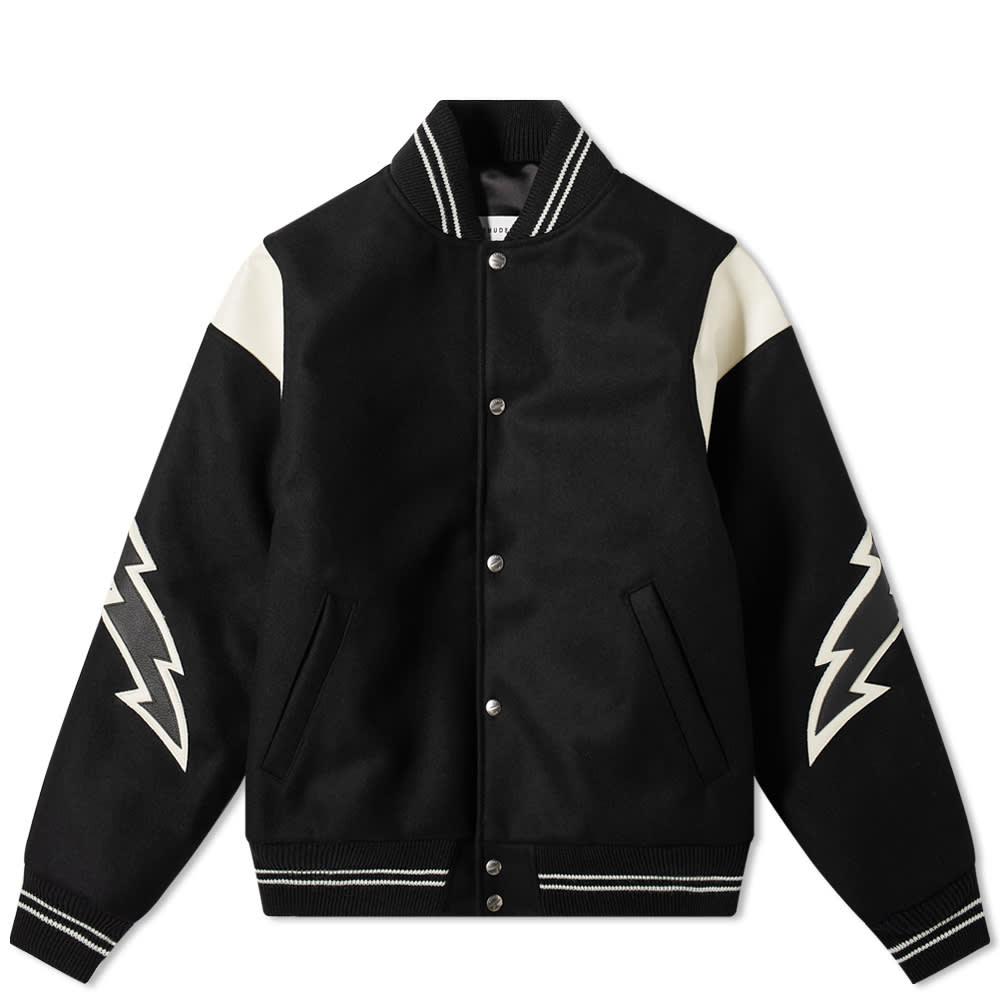 Rhude Lighting Varsity Jacket