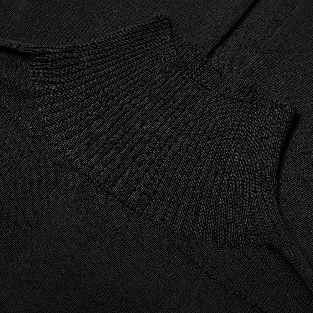Rick Owens Oversize Turtle Neck Knit - Black