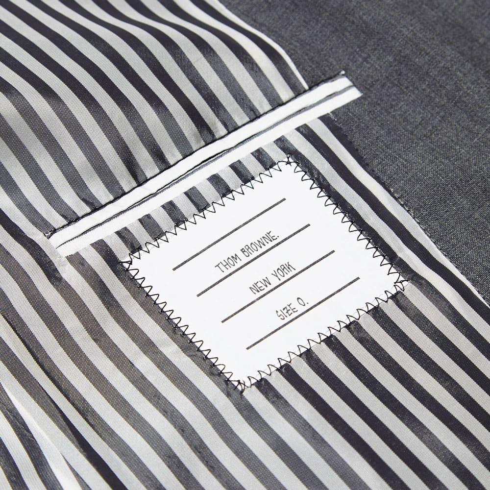 Thom Browne Classic SB 3-Button Jacket - Medium Grey Wool