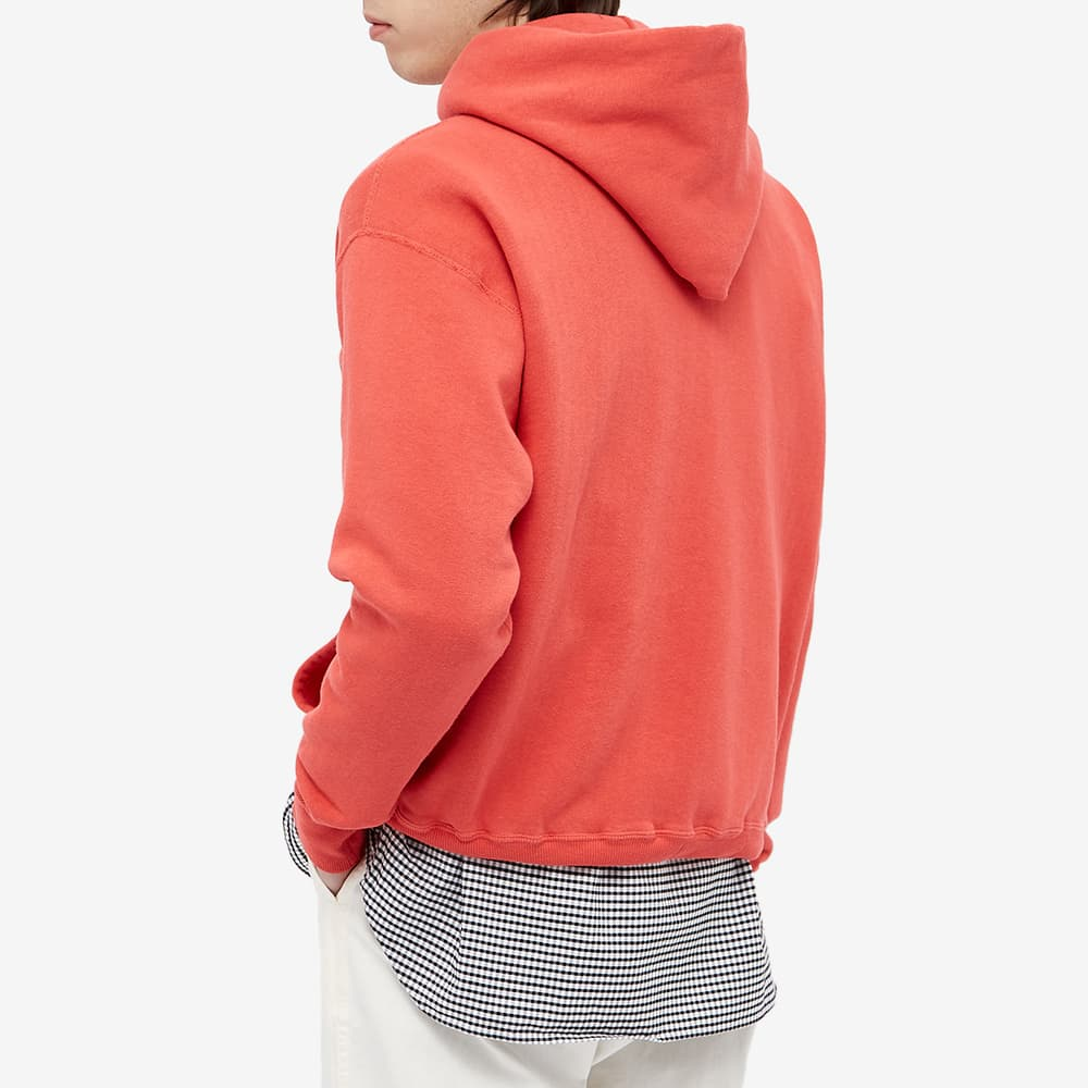 Human Made Hooded Sweat - Red