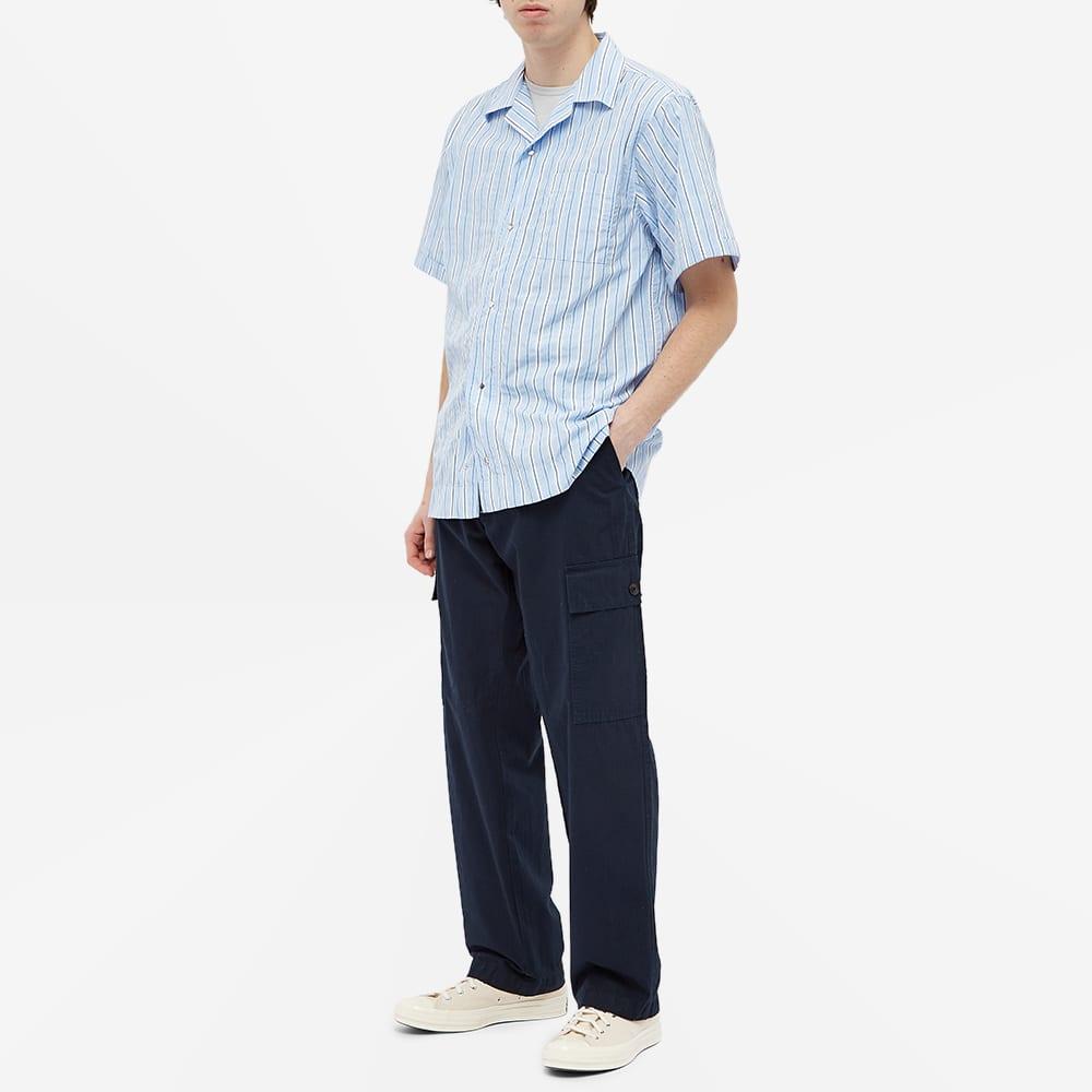 NN07 Oliver Vacation Shirt - Blue Stripe
