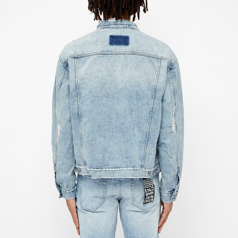 Ksubi Oh G Acid Trip Denim Jacket - Blue