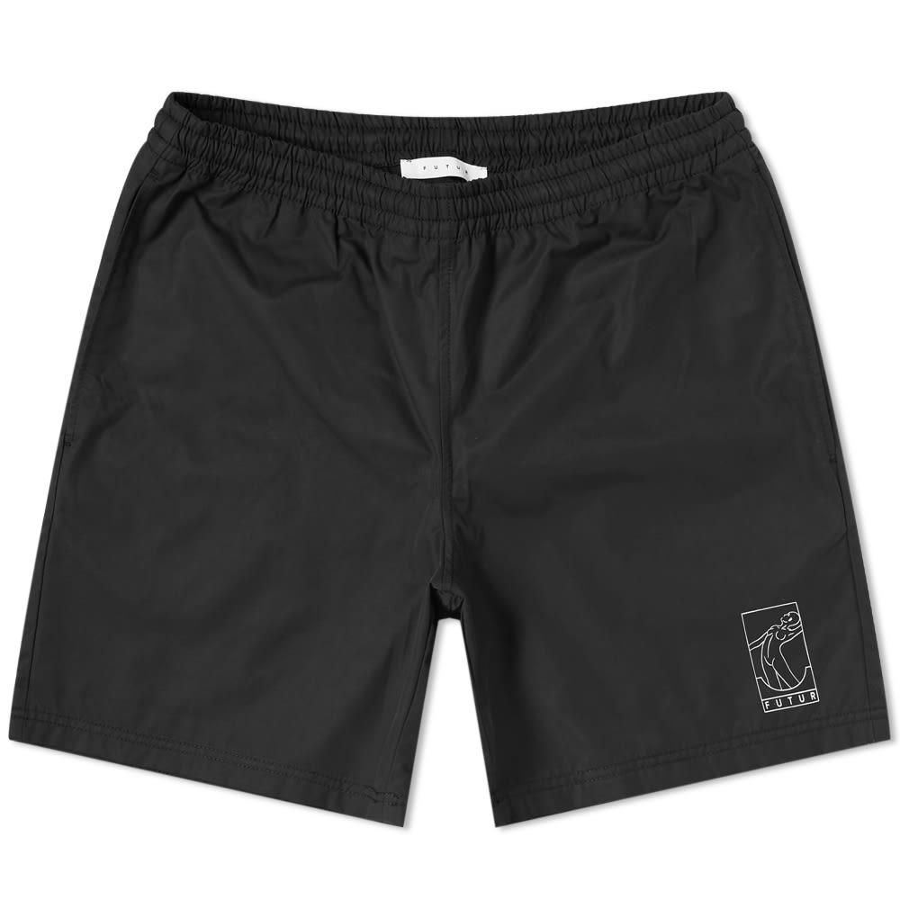 Futur Splash Short - Black