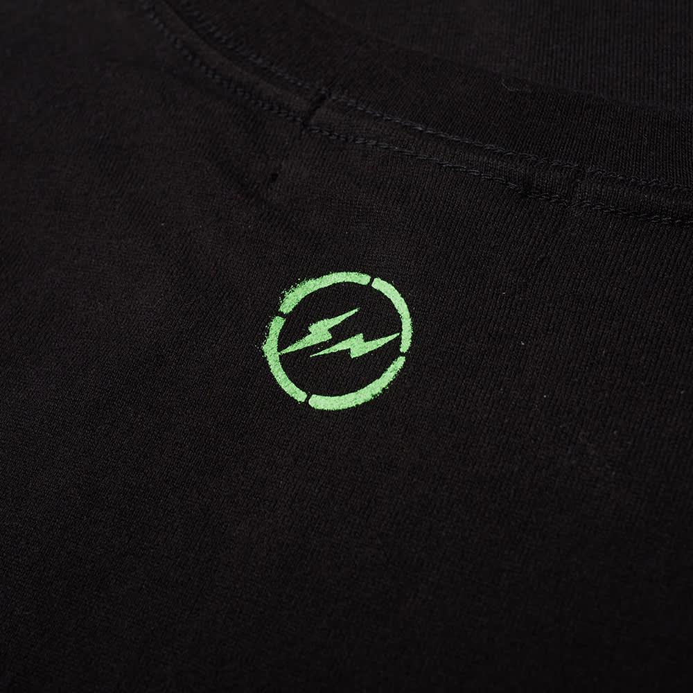 Fragment x Be@Rbrick Spray Logo Tee - Black