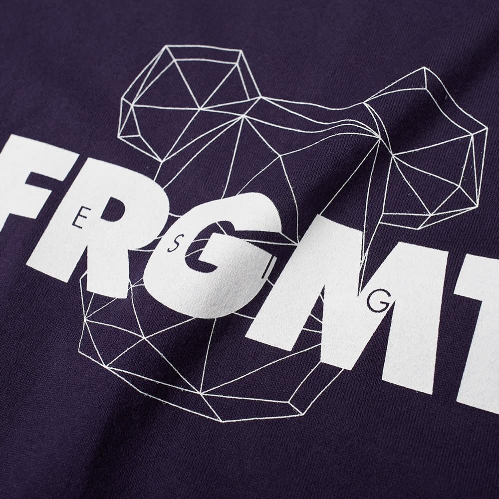 Fragment x Be@Rbrick Spray Logo Tee - Navy