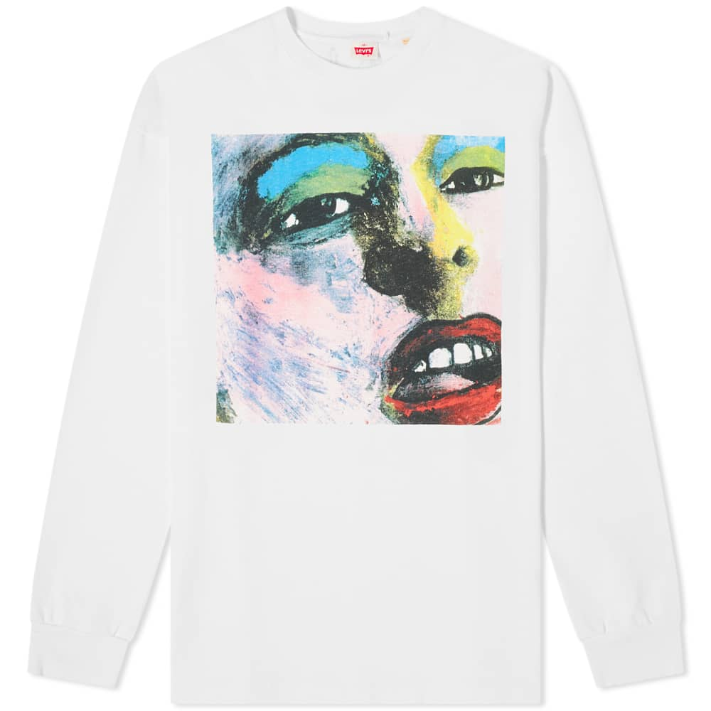 Levi's Vintage Clothing x Happy Mondays Long Sleeve Tee - Bummed Multi Coloured