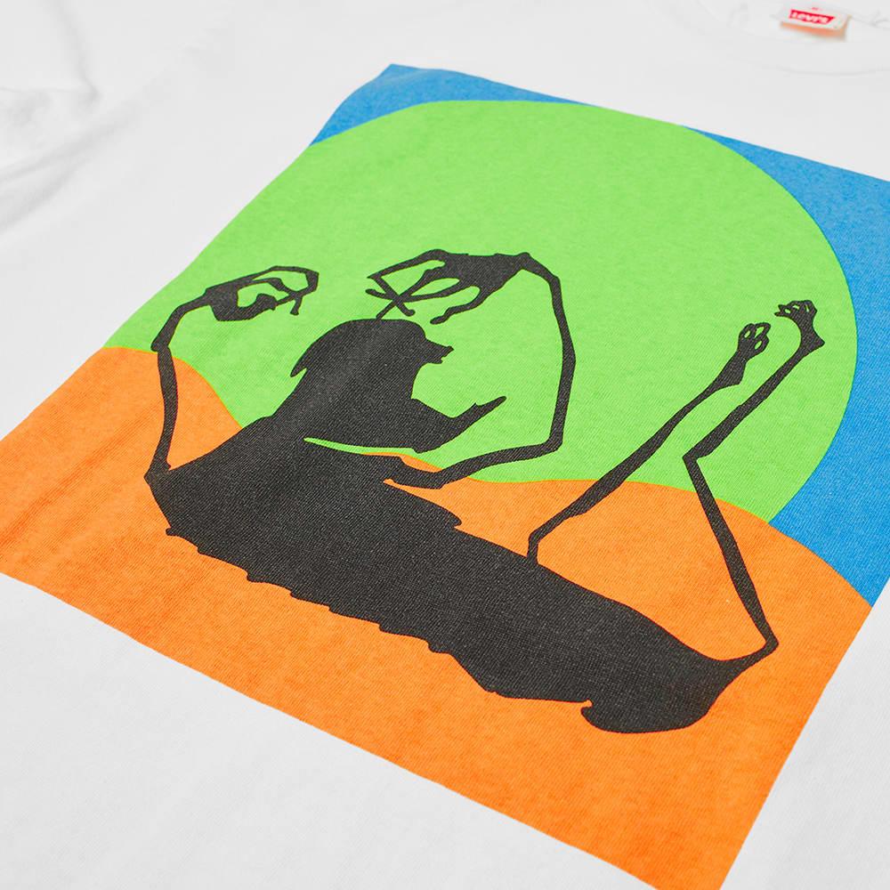 Levi's Vintage Clothing x Happy Mondays Long Sleeve Tee - Freaky Multi Coloured