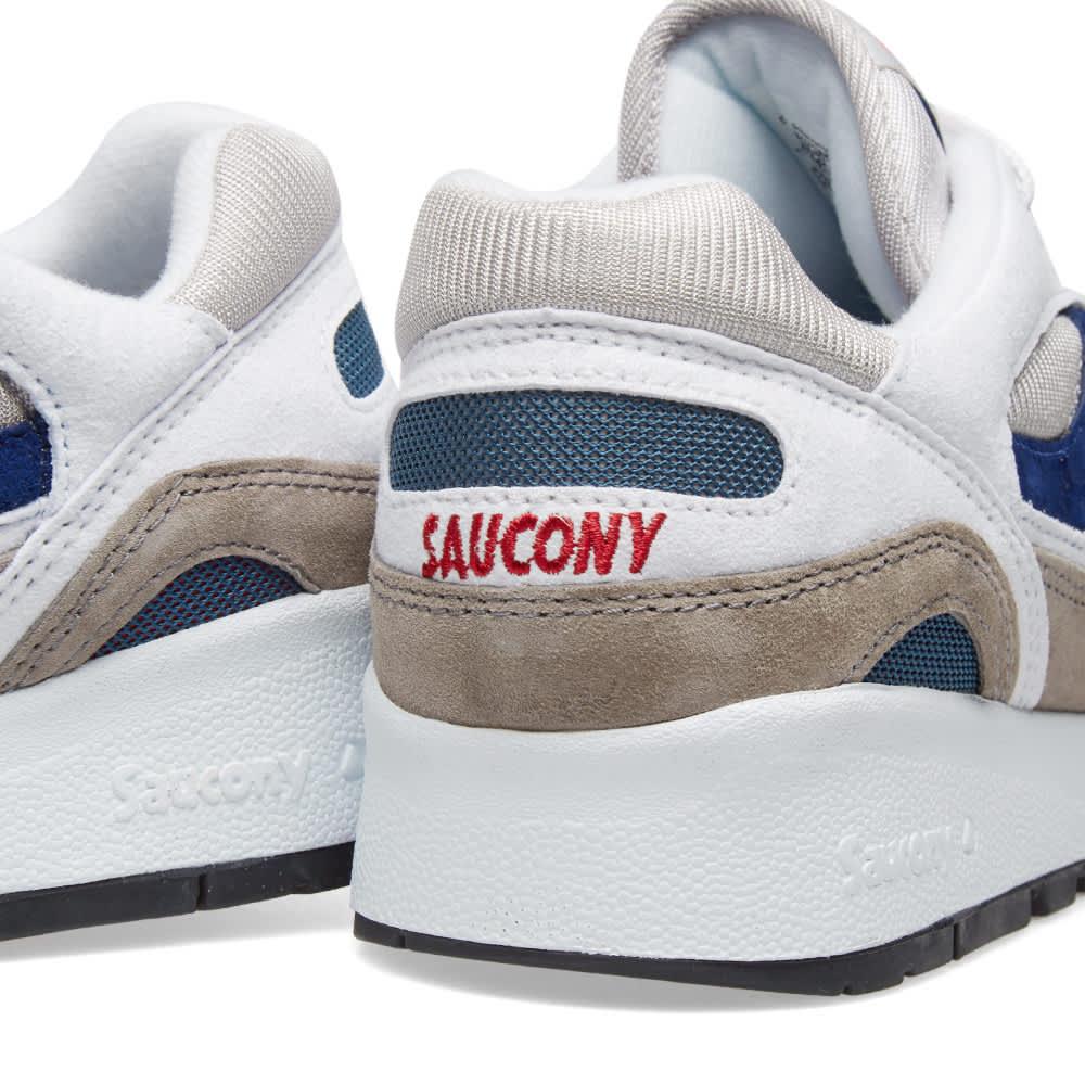 Saucony Shadow 6000 - White, Grey & Navy