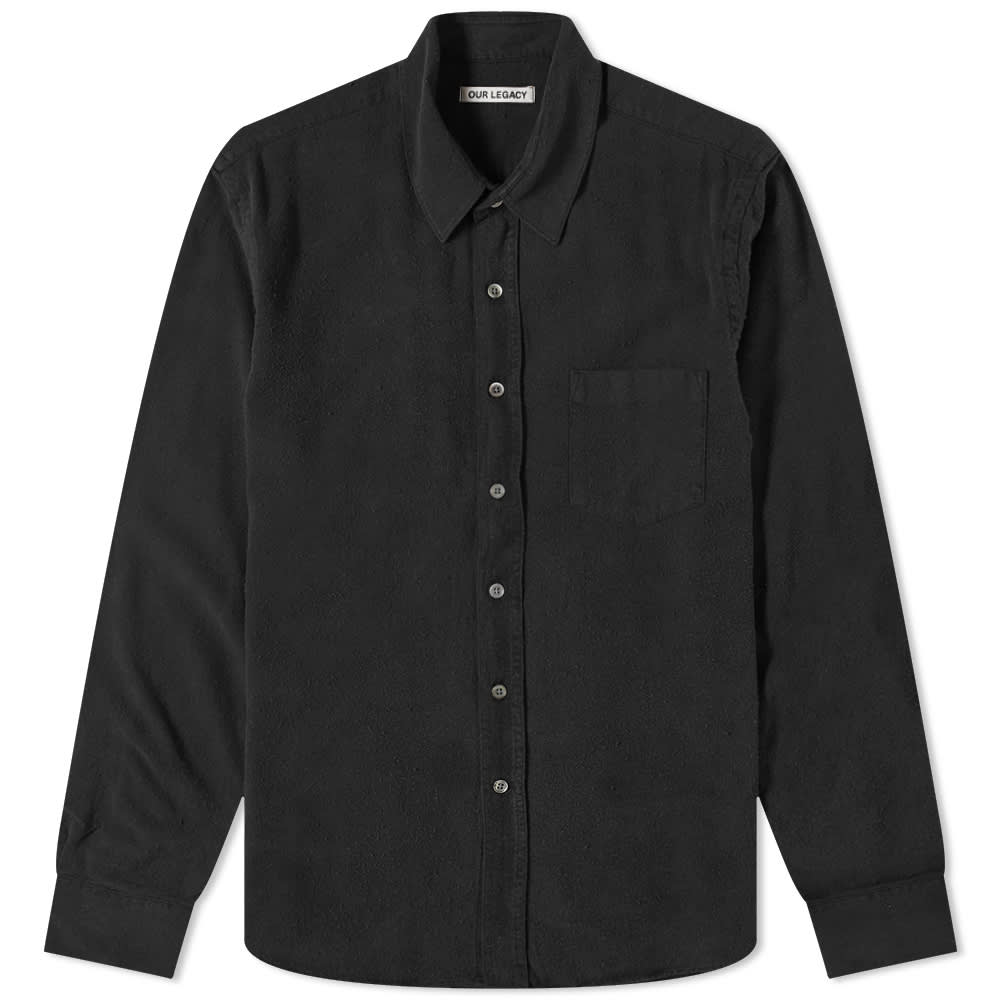 Our Legacy Classic Shirt - Black Silk