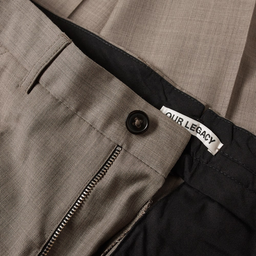 Our Legacy Chino 22 Cord - Stone Grey Wool