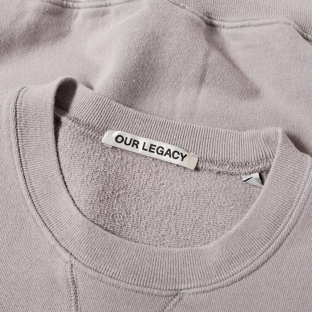 Our Legacy Base Sweat - Sulphur Blue Fleece