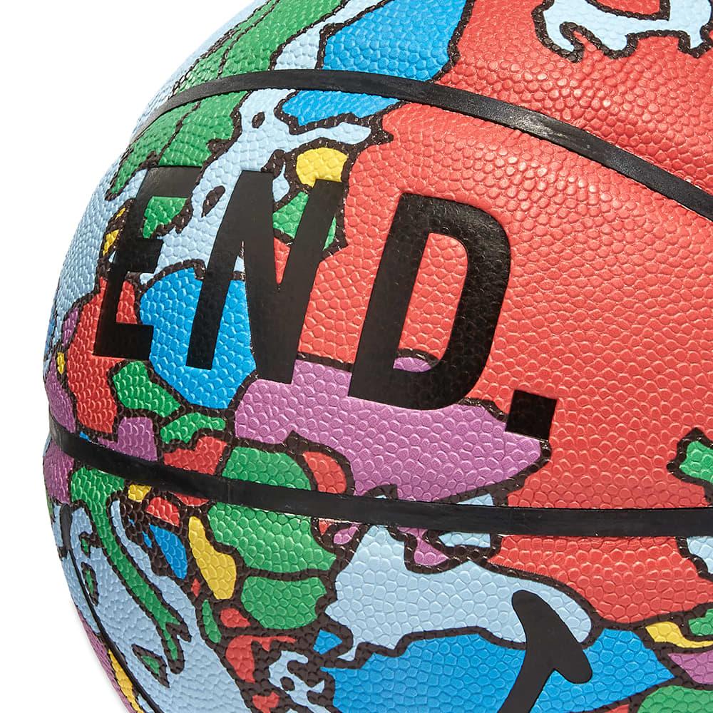 END. x Chinatown Market Globe Basketball - Blue