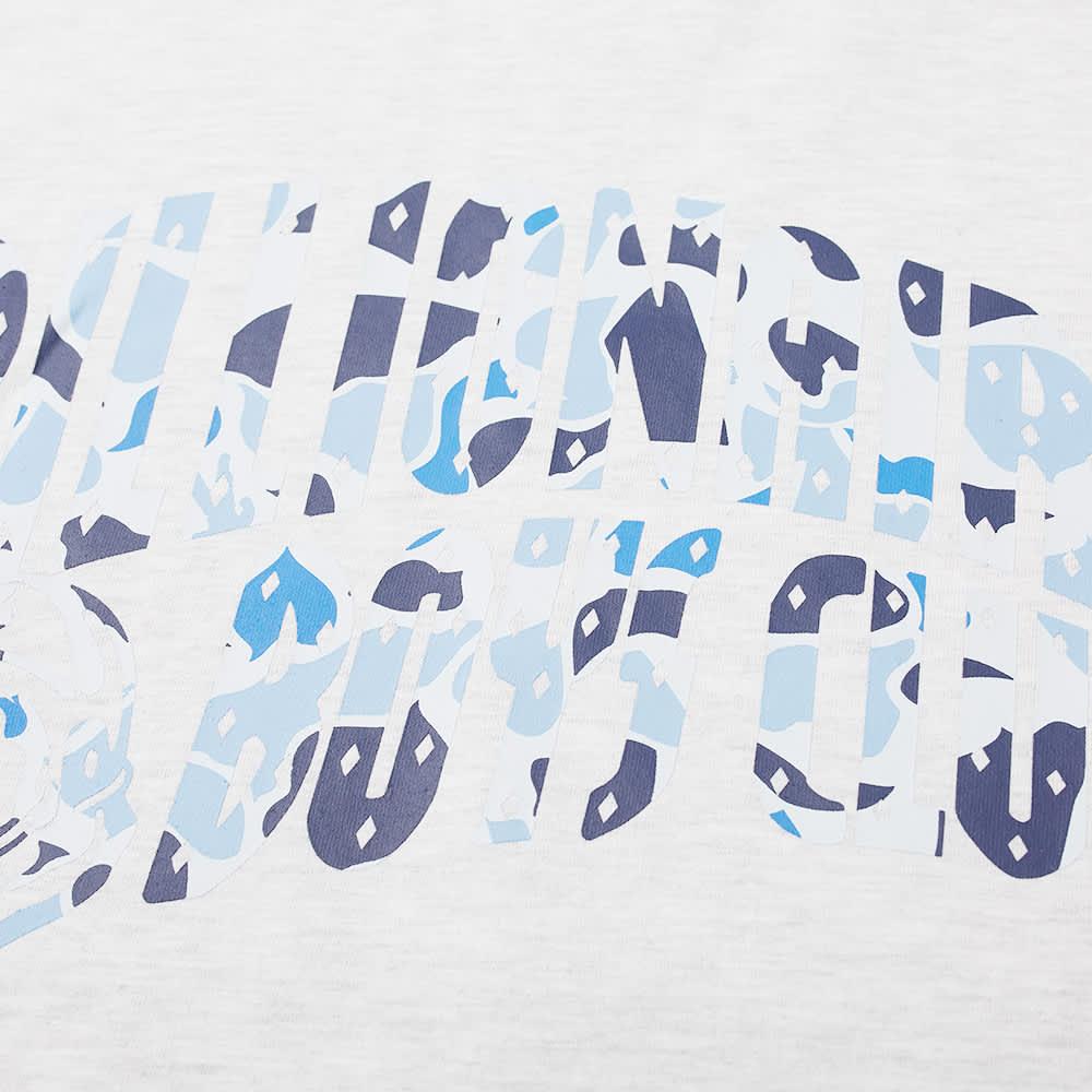 Billionaire Boys Club Camo Arch Logo Tee - Light Ash