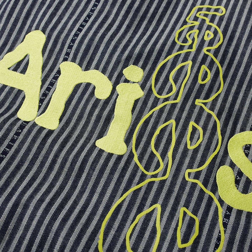 Aries x Lee 191 J-Jacket - Indigo Stripe