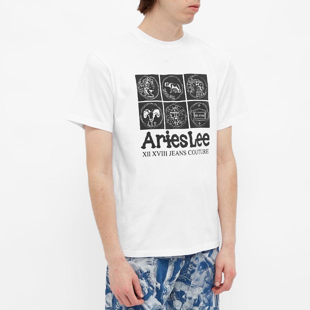 Aries x Lee Coin Tee - White