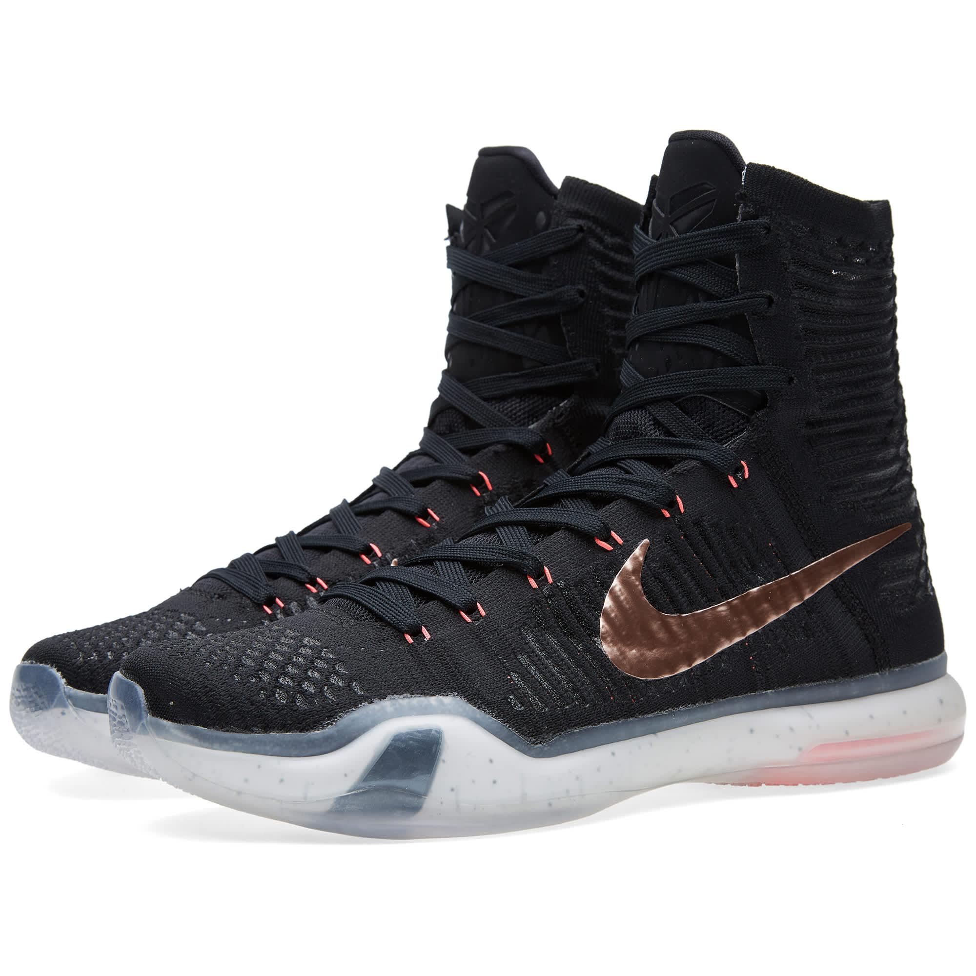 Nike Kobe X Elite 'Rose Gold' Black