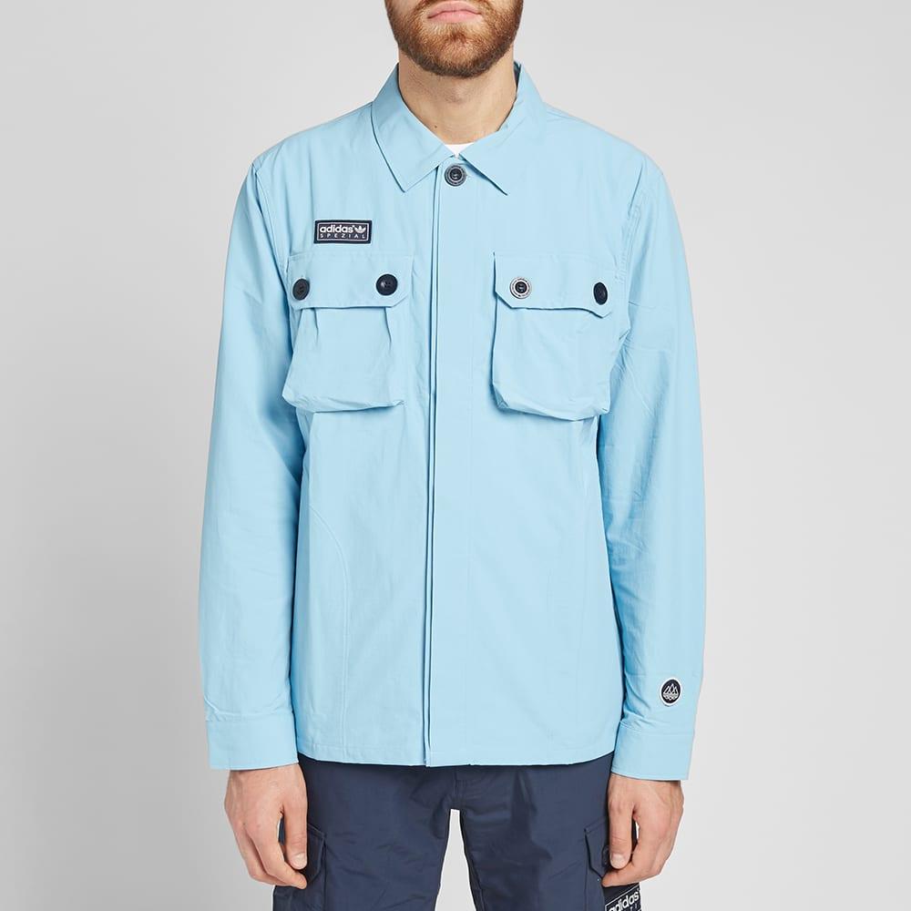 Adidas SPZL Gilbraith Overshirt Clear