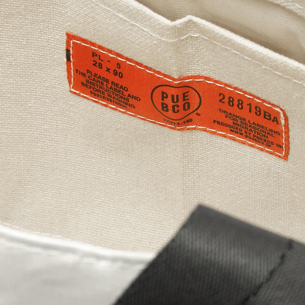Puebco Vintage Sling Belt Handle Tote - White