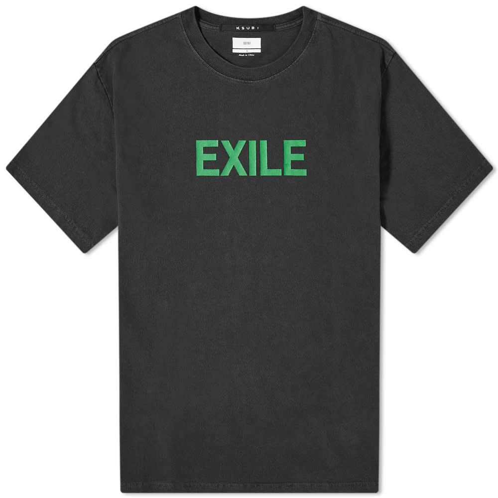 Ksubi Exile Kash Tee - Black