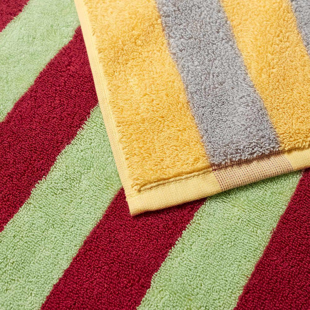 Dusen Dusen Bath Towel - Jade Stripe