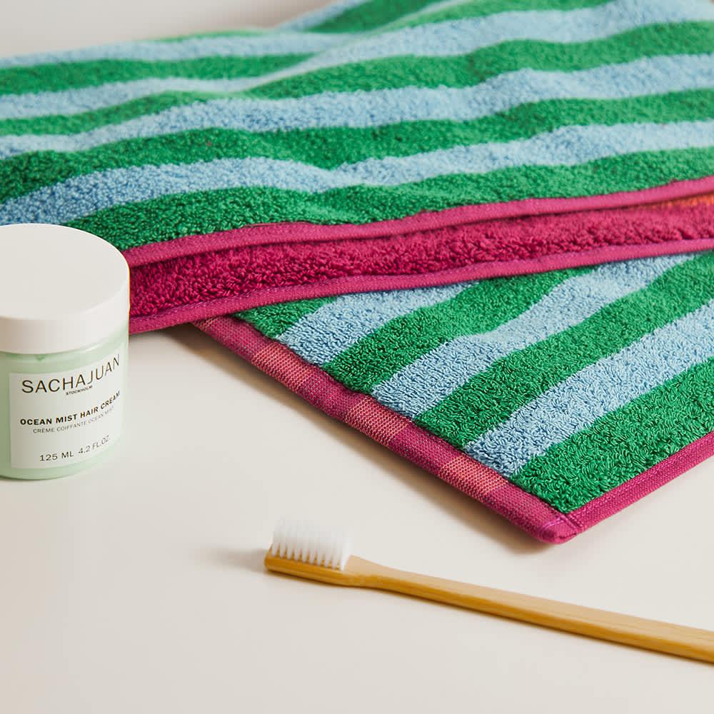 Dusen Dusen Hand Towel - Ruby Stripe