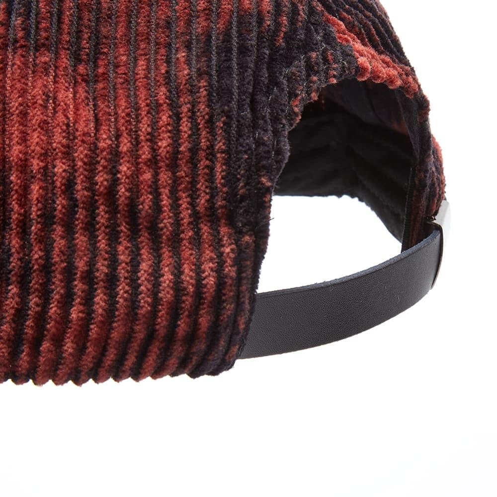 Brain Dead Bleached Cord Logo Head Cap - Black