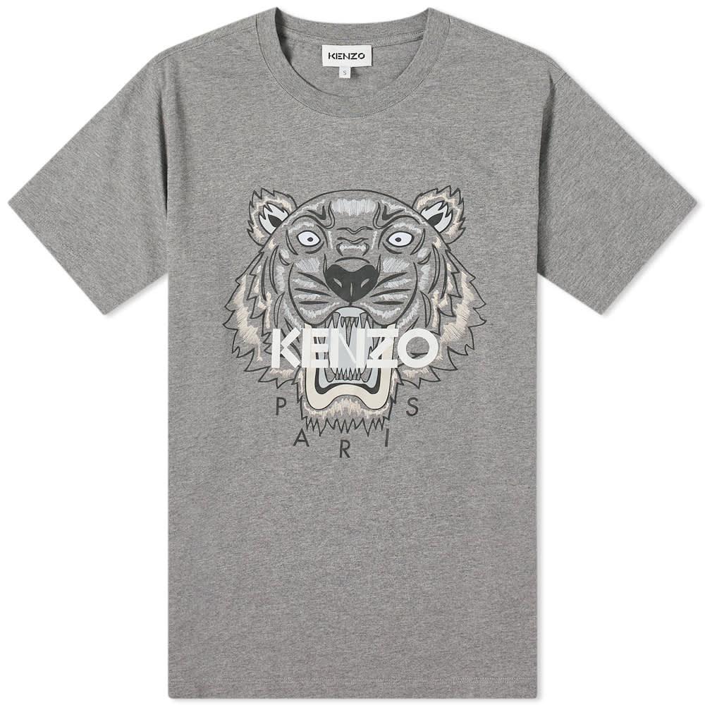 Kenzo Tiger Classic Tee - Dove Grey
